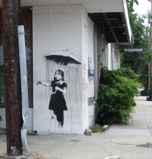 La Poisse, par Banksy